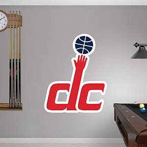 Washington Wizards Alternate Logo Fathead Wall Decal